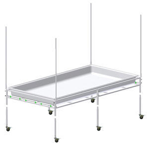 TRAY STAND 3 FT X 6 FT WITH 1 - 1