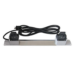 Armature for double-ended lamps - 1