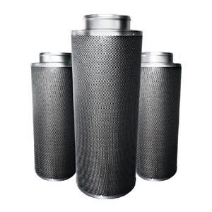ECONOMICAL TYPE CARBON FILTER 125-400MM, ECONOMICAL TYPE CARBON FILTER 125-400MM