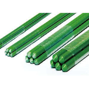 GREEN PLASTIC COATED PLANT STAKE, GREEN PLASTIC COATED PLANT STAKE 4' 11 x L1200MM - 1