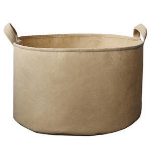TAN FABRIC POT 1514 L - 1
