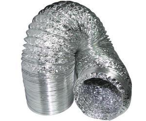 Air duct aluconnect,diameter 125mm,10m, Air duct aluconnect,diameter 125mm,10m