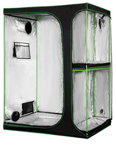 600D 2-IN-1 INDOOR GROW TENT - 1