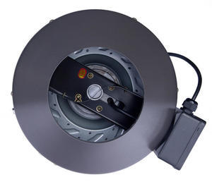 NTS InLine Duct Fan - with speed control - 2