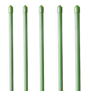 GREEN PLASTIC COATED PLANT STAKE, GREEN PLASTIC COATED PLANT STAKE 4' 11 x L1200MM - 2