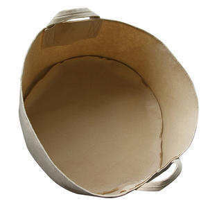 TAN FABRIC POT 1514 L - 2